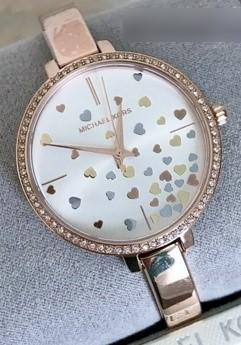 Ladies new Michael Kors couture 'Jaryn' very feminine watch.