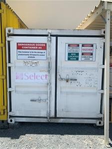 10ft Hazardous Goods Container