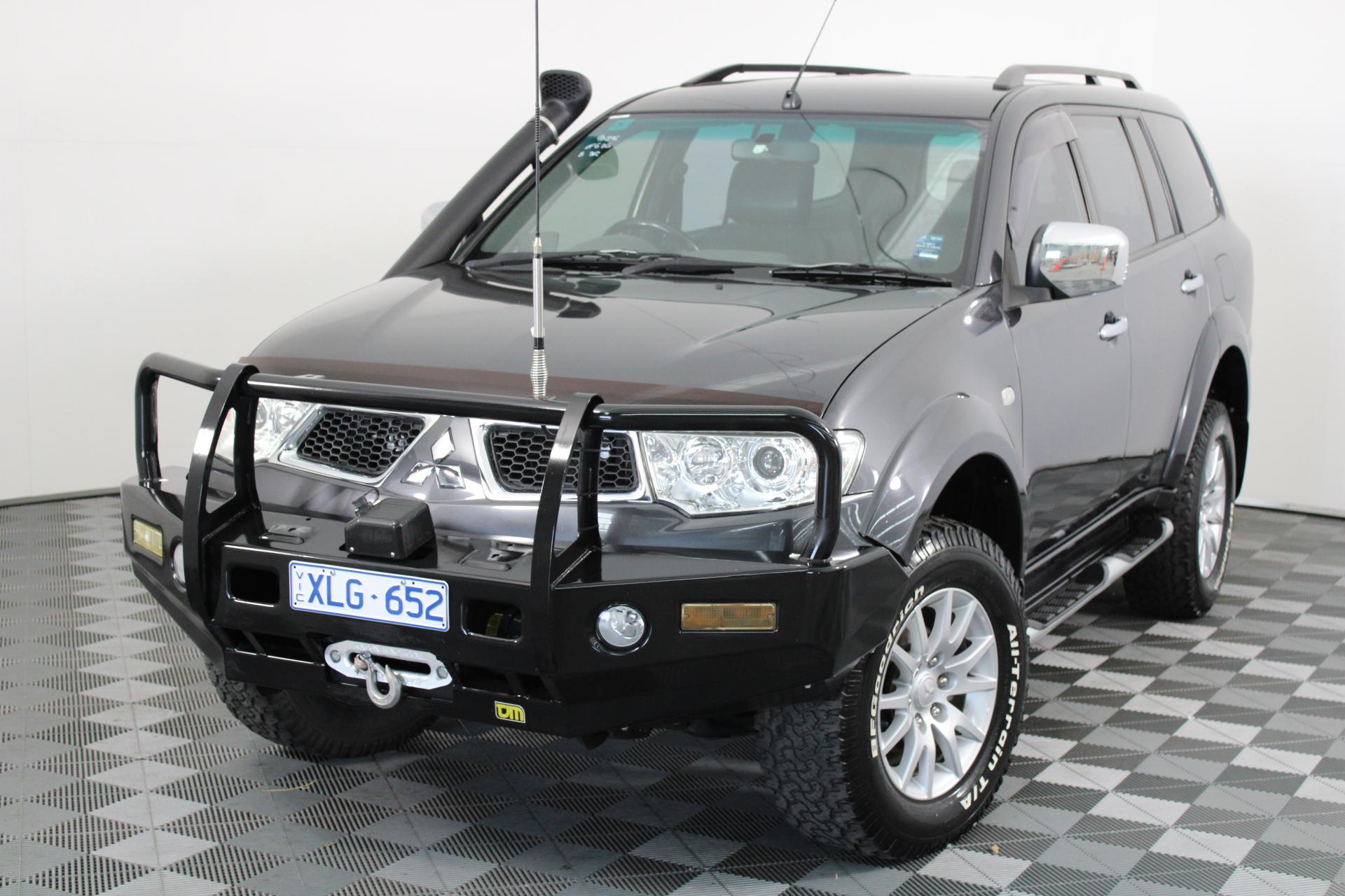 2010 Mitsubishi Challenger LS (4x4) PB Turbo Diesel Automatic 7 Seats Wagon