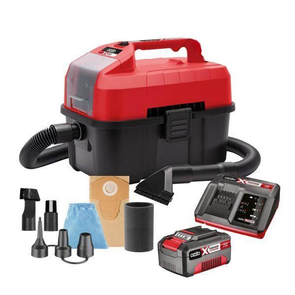 OZITO 18V Cordless Wet & Dry Vacuum / Inflator Kit c/w 3.0Ah Battery & Char