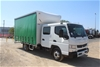 2015 Fuso Canter 815 Auto T/DSL Curtainsider Dual Cab Truck 17,174km