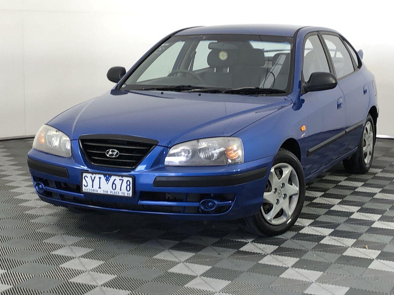 2004 Hyundai Elantra 2.0 HVT XD Manual Hatchback
