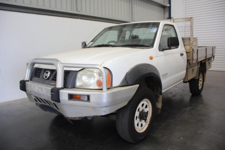 2003 Nissan Navara DX (4x4) D22 Turbo Diesel Manual Cab Chassis