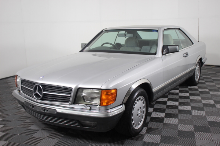 1982 Mercedes-Benz 380 SEC W126 Coupe 104,714 miles (Future Collectable)
