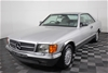 1990 MERCEDES-BENZ 560 Coupe 104,714 km's (Future Collectable)