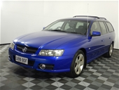 Unreserved 2007 Holden Commodore SVZ VZ Automatic Wagon