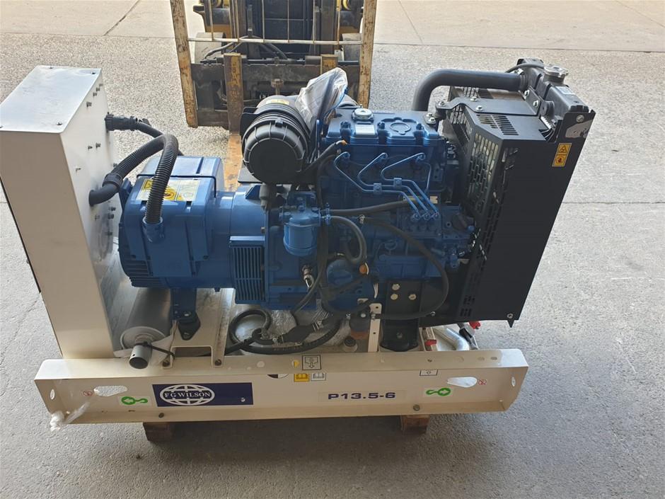 Damaged New FG Willson Generator