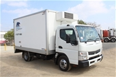 Unreserved 2013 Mitsubishi Canter Refrigerated Body Truck
