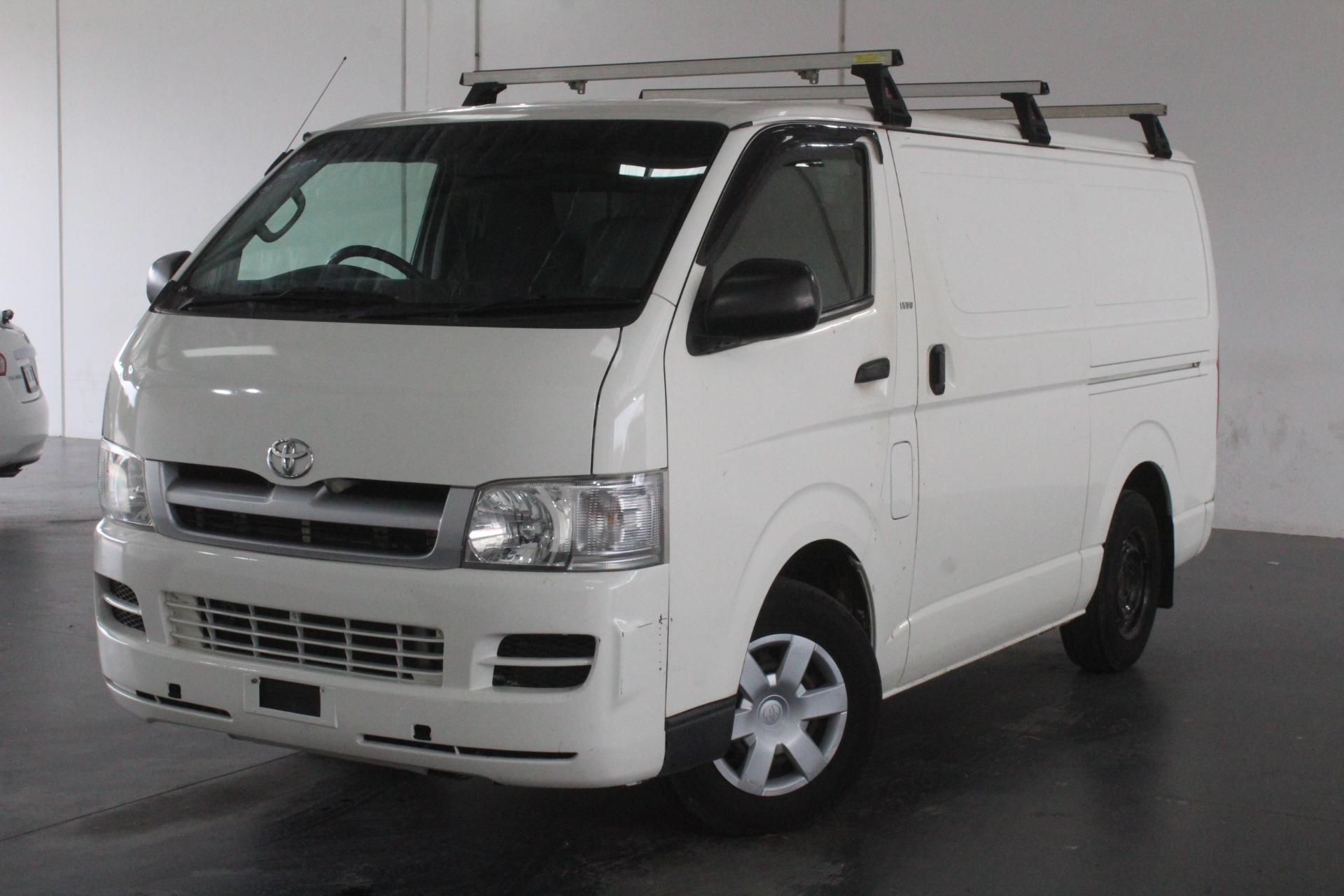 2006 Toyota Hiace LWB TRH201R Automatic Van