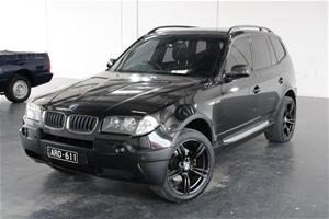 2004 BMW X3 3.0i E83 Automatic Wagon