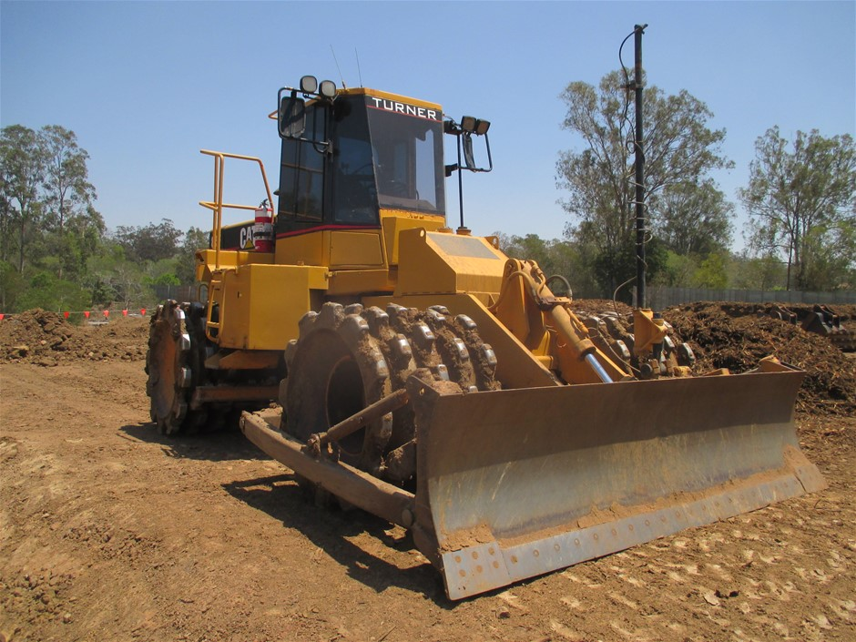 1996 Caterpillar 815F Compactor (Converted from 816F)