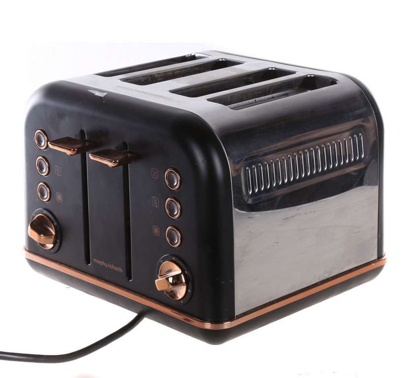 MORPHY RICHARDS 4-Silce Electric Toaster. N.B. Not in original packaging, h