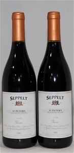 Seppelt `St Peters` Shiraz 1998 (2x 750m