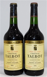 Chateau Talbot St Julien 1976 (2x 750ml), Bordeaux