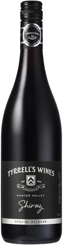 Tyrrell's `Special Release` Shiraz 2017 (12 x 750mL) Hunter Valley