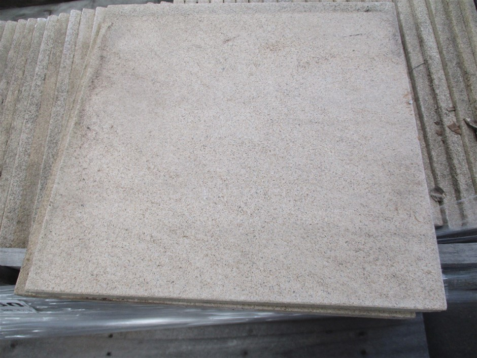 Qty 62 x Oxford Sandstone Natural Tiles