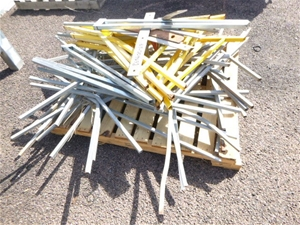 Large Quantity of Legs for Road Work Sig
