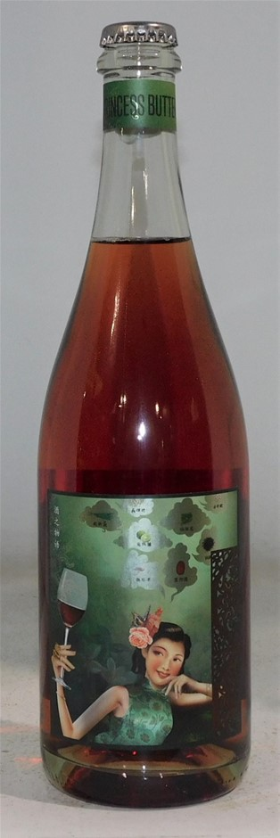 McPherson Wines Princess Butterfly Moscato Sparkling Red 2016 (6x 750mL)