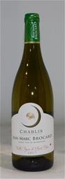Jean-Marc Brocard Vieilles Vignes de Sainte Claire Chablis 2017 (6x 750mL),