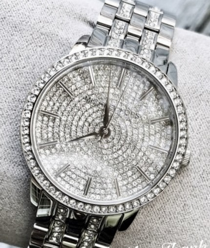 Ladies stunning new Michael Kors Couture NY 'Nina Pave' watch. Wow