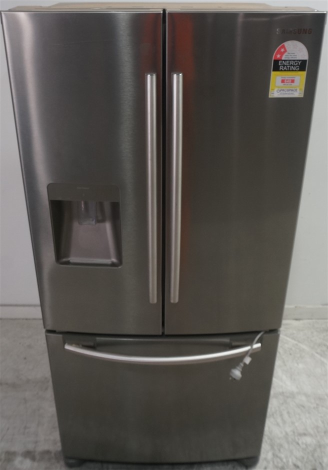 Samsung 579L Stainless Steel 3 Door Fridge (SRF579DLS)