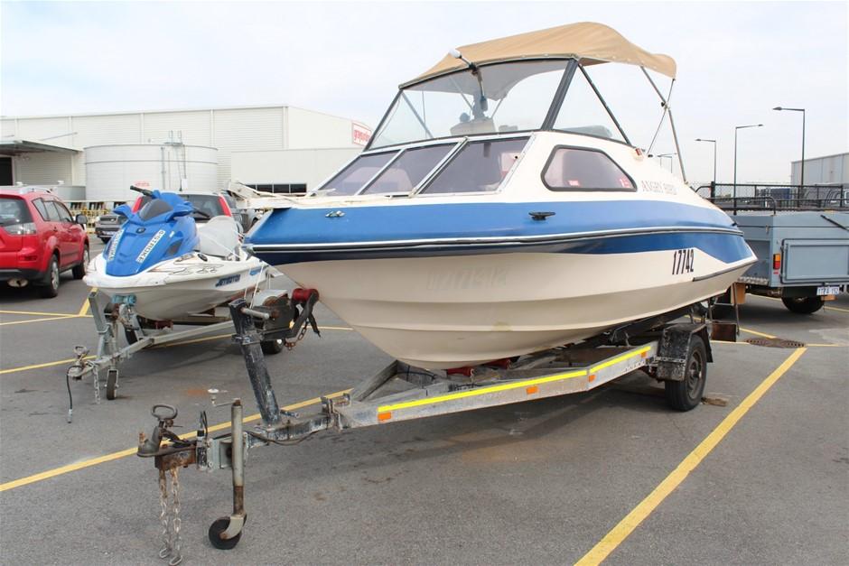 Volero Half Cabin Boat Yamaha 100HP 4 Stroke