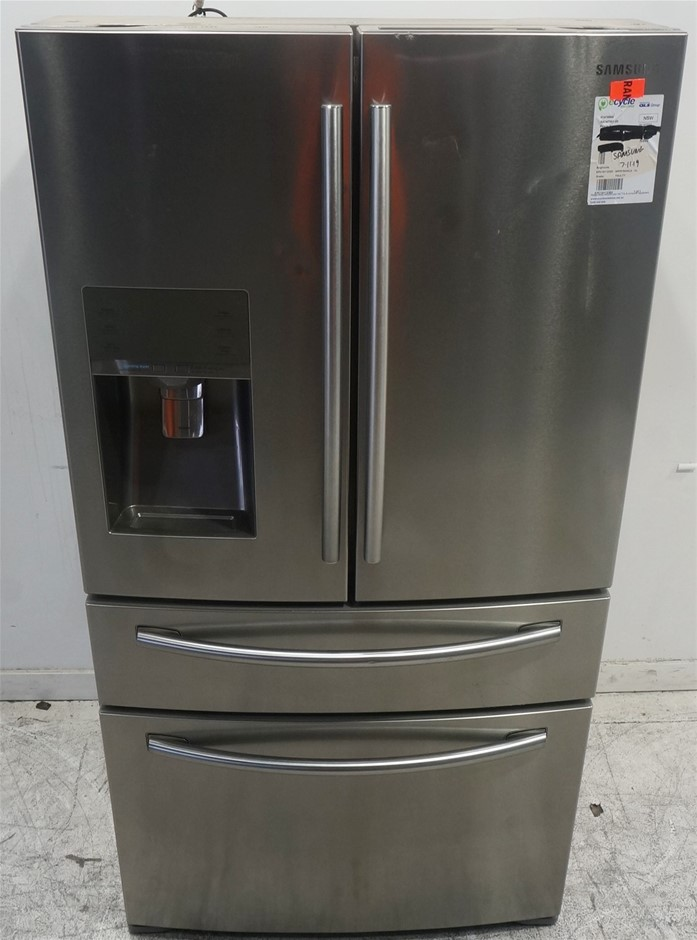 Samsung SRF679SWLS 680L 4 Door Fridge (Layered Steel)