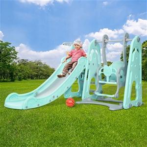 Keezi Kids Slide Swing Outdoor Indoor Pl