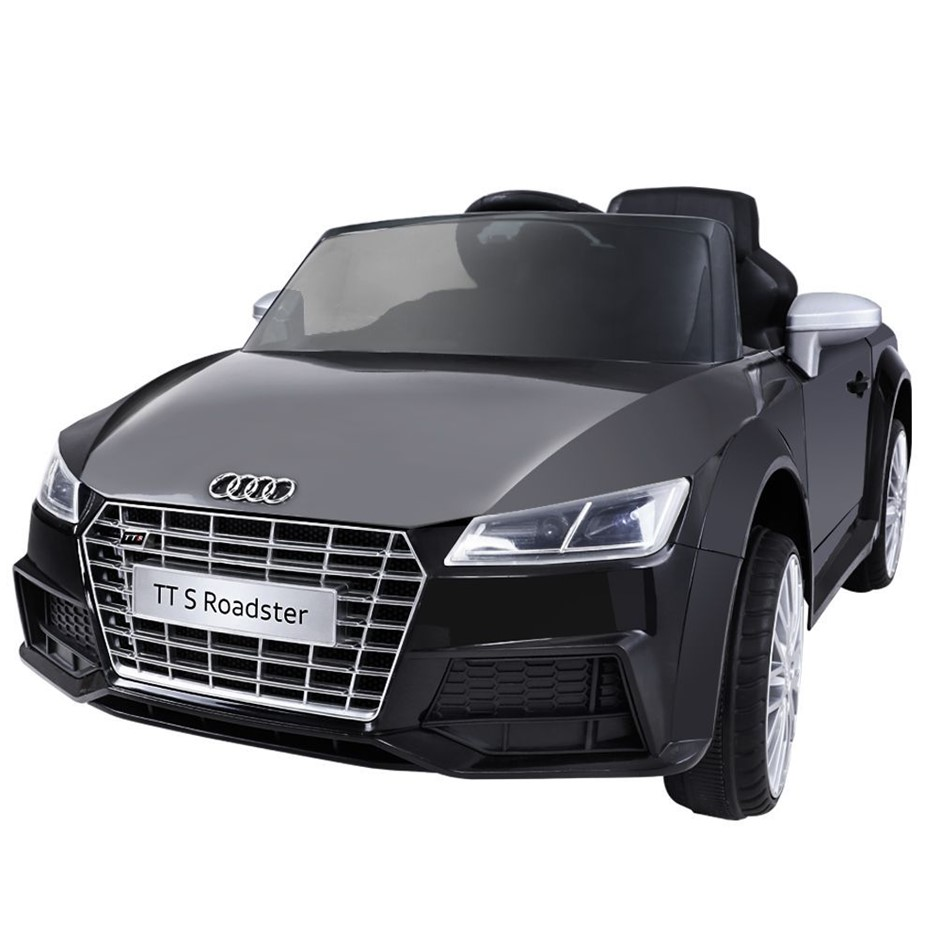 Audi Licensed Kids Ride On Cars Electric Car Children Toy Battery Black