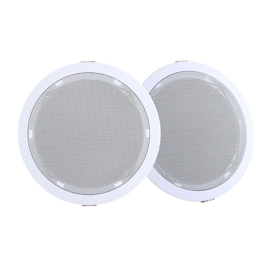 "2 x 6"" In Ceiling Speakers 80W Speaker Theatre Stereo Outdoor Multi Room"