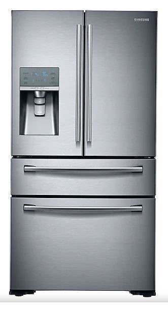 Samsung 680L French Door Refrigerator - SRF680CDLS