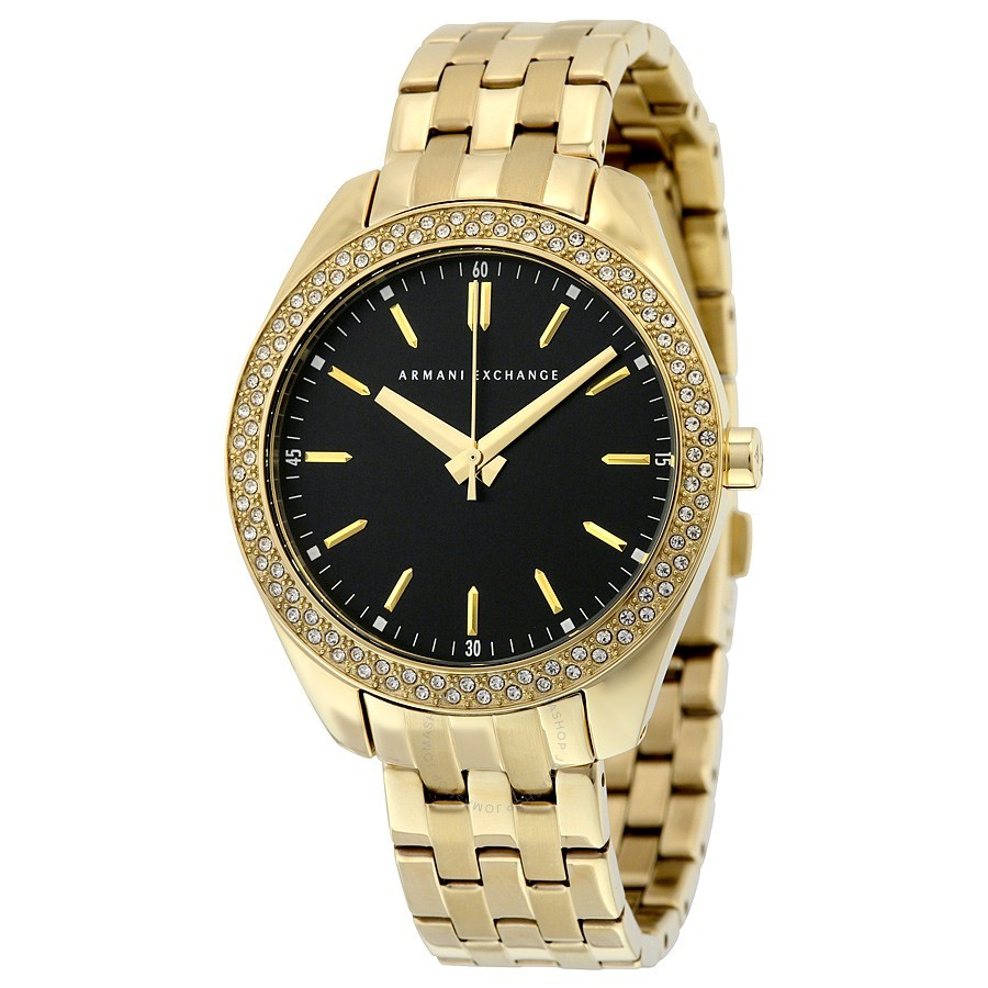 Gorgeous new Armani Exchange gold-plated watch