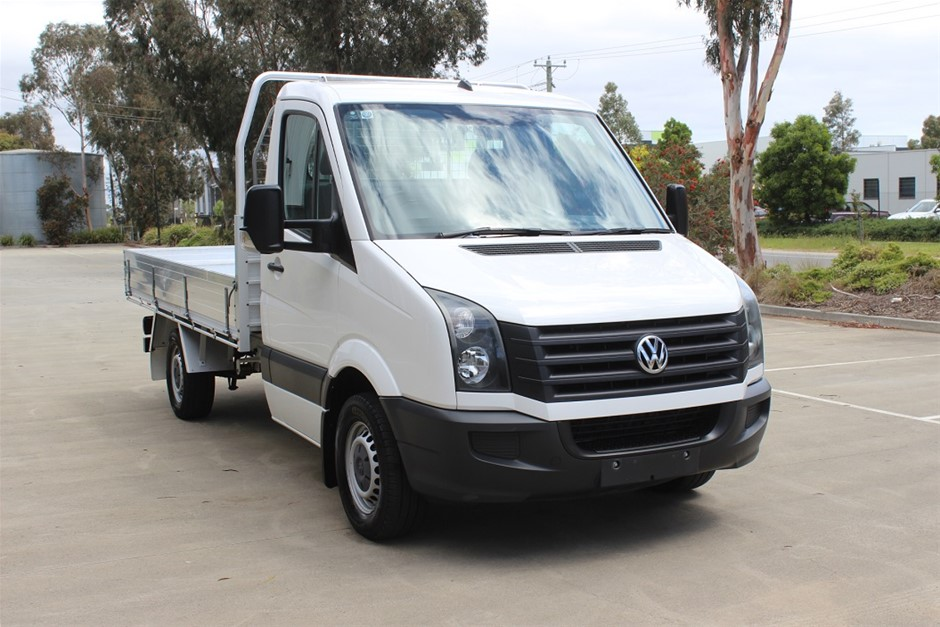 2012 Volkswagen Crafter MY2 RWD Manual - 6 Speed Cab Chassis
