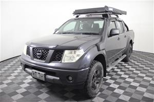 2008 (2009) Nissan Navara ST-X (4x4) D40
