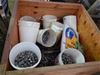 A Large Quantity of Assorted Nuts & Bolts in Timber Crate