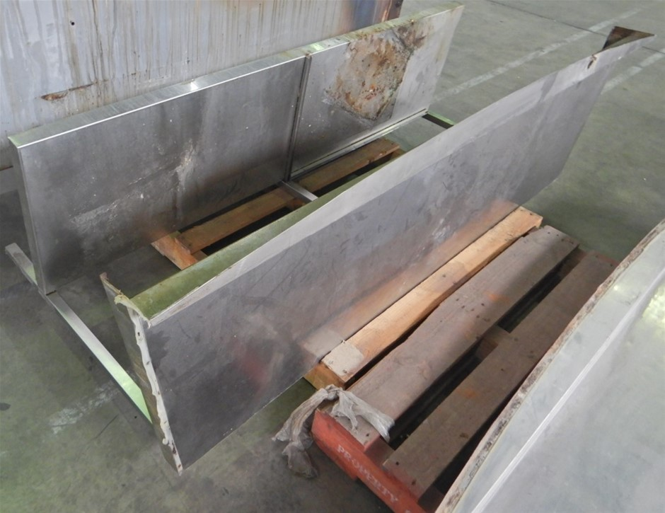 Qty of Stainless Benches (Pooraka, SA)