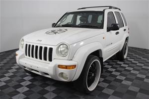 2001 Jeep Cherokee Limited (4x4) Auto V8