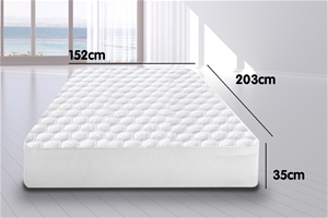 Laura Hill Fitted Cool Max Mattress Prot