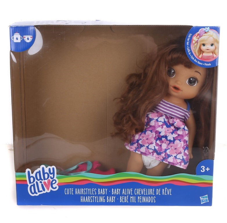 BABY ALIVE Cute Hairstyles Doll Children`s Toy Set N.B. May be ...