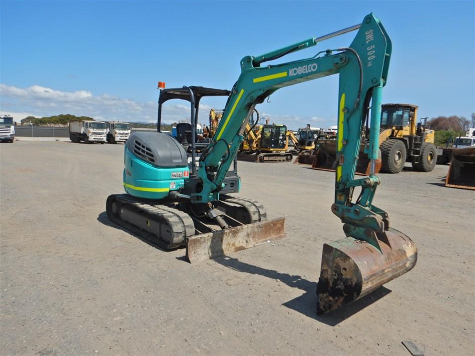 Kobelco SK45SRX-6 Hydraulic Excavator (Tracked) (Pooraka, SA)