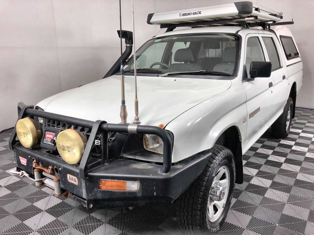 2004 Mitsubishi Triton GLX (4x4) MK Manual Dual Cab