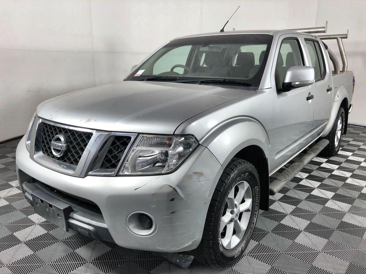 2012 Nissan Navara 4X4 ST D40 Turbo Diesel Automatic Dual Cab