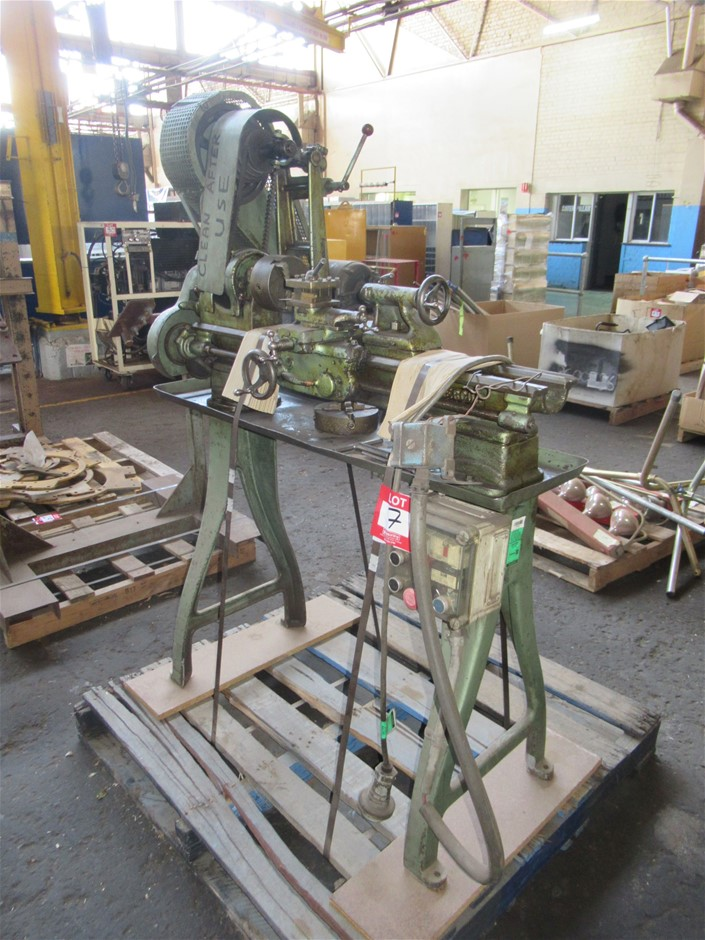 Hercus Manufacturing Lathe (Enfield, SA)