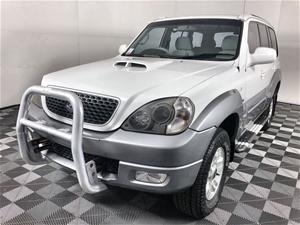 2004 (2005) Hyundai Terracan CRDi Turbo