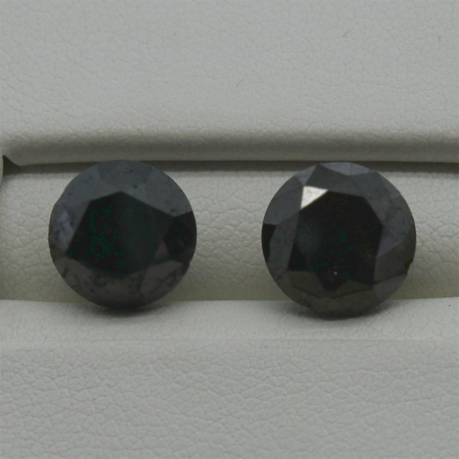 Two Loose Diamond, 4.00ct in Total