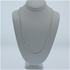 Genuine solid Sterling Silver heavy rope chain necklace 60 cm