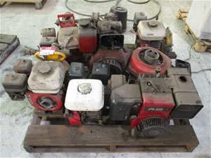 Pallet Qty Various Small Engines / Pumps