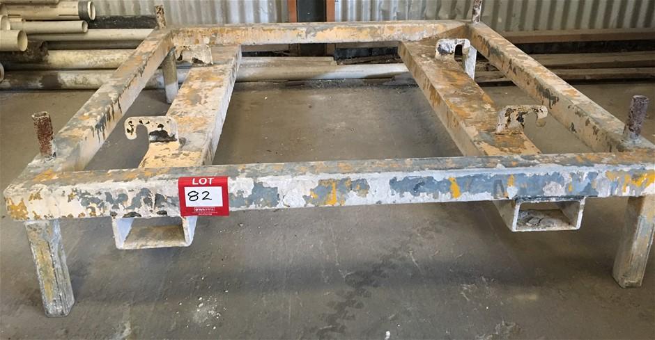 Bulk Bag Lifting Frame suit Forklift.