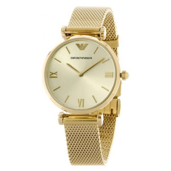Stunning new Armani Retro Gold-plated Ladies Watch