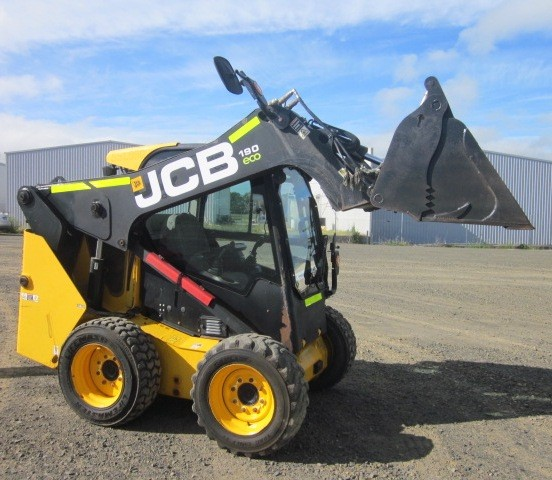 2014 JCB 190 4 Cylinder Skid Steer Loader